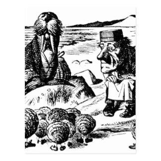 Morse, Carpeter et huîtres Carte Postale