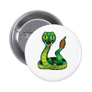 morsure de serpent à sonnettes pin's