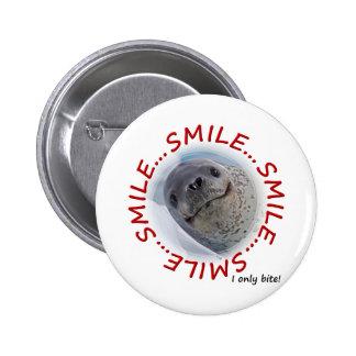 Morsure du sourire… I seulement ! Insigne Badges