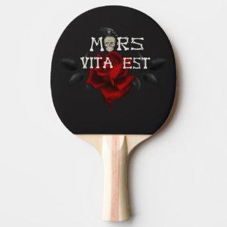Mort et vie raquette tennis de table