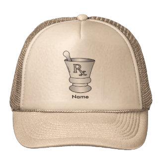 Mortier et pilon casquette