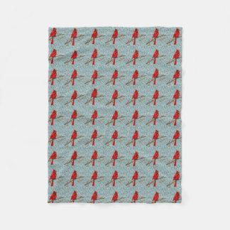Mosaïque cardinale rouge