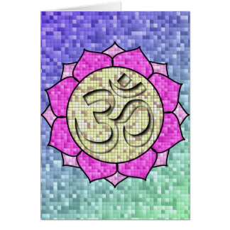 Mosaïque de l'OM Lotus Cartes De Vœux