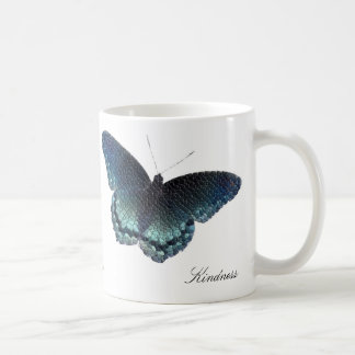 Mosaïque de papillon mug