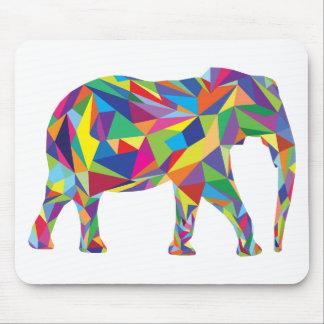 Mosaïque d'éléphant tapis de souris