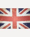 Mosaïque d'Union Jack Royaume-Uni de drapeau T-shirts