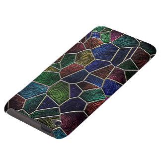 Mosaïque Lora, multicolore Coques Barely There iPod