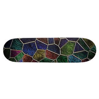 Mosaïque Lora, multicolore Skateboards Customisés