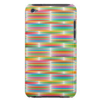 Mosaïque multicolore abstraite d arc-en-ciel d art étuis barely there iPod