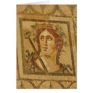Mosaïque romaine de villa dans Ephesus Cartes