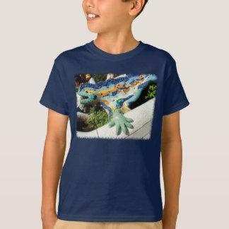Mosaïques de lézard de Gaudi T-shirt
