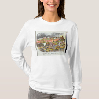 Moscou Kremlin dans la période du tsar Ivan III T-shirt