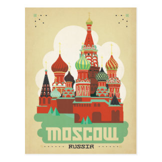 Moscou, Russie Carte Postale
