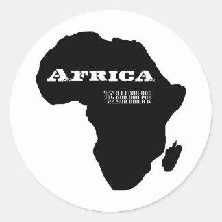 Moskitu Afrique Adhésifs Ronds