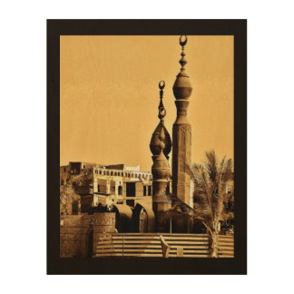 Mosquée de Balad d'Al Impression Sur Bois