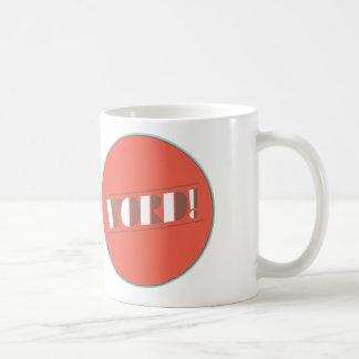 Mot ! Tasse de café par conception de bon humour