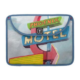 Motel de Phoenix d'aquarelle Poche Pour Macbook Pro