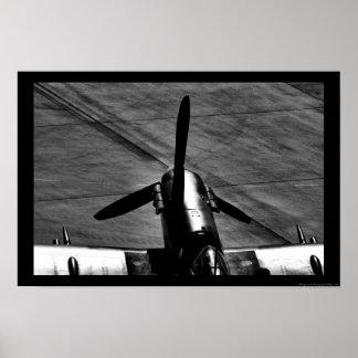 Moteur de Spitfire de Supermarine Posters