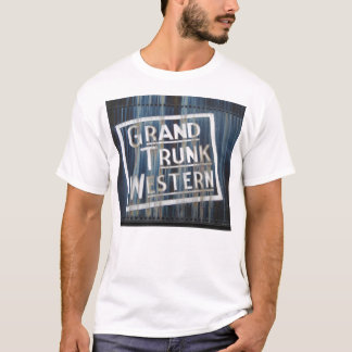 Moteur locomotif de chemin de fer occidental grand t-shirt