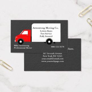 Moteur mobile de camion d'entreprise de cartes de visite