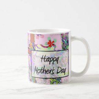 Mother&apos heureux ; jour de s mug blanc