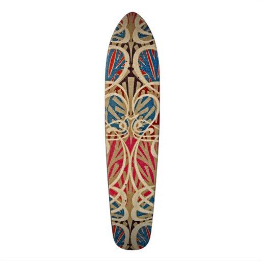 Motif #10 de Nouveau d'art chez Emporio Moffa Skateboard Customisable