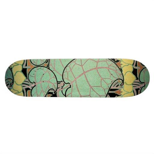 Motif #10 de Nouveau d'art Planches À Roulettes Customisées