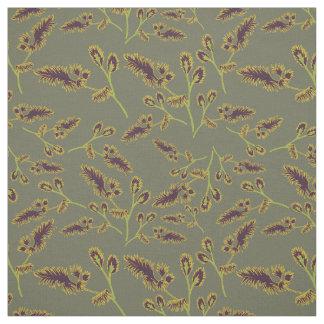 Motif 1 d'herbes tissu