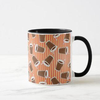 Motif 2 d'aliments de préparation rapide mug