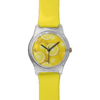 Motif 2 de citron montres bracelet