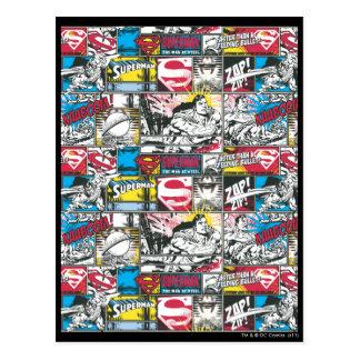 Motif 2 de logo de Superman Carte Postale