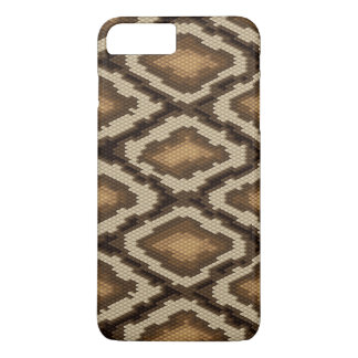 Motif 2 de peau de serpent de python coque iPhone 7 plus