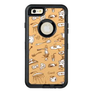 Motif 2 de petit déjeuner coque OtterBox iPhone 6 et 6s plus