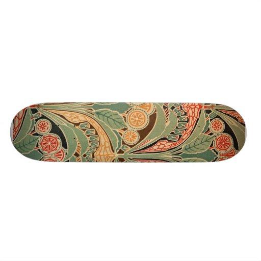 Motif #3 de Nouveau d'art chez Emporio Moffa Planches À Roulettes Customisées