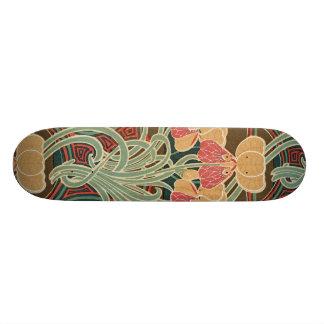 Motif #4 de Nouveau d'art chez Emporio Moffa Skateboards Personnalisés