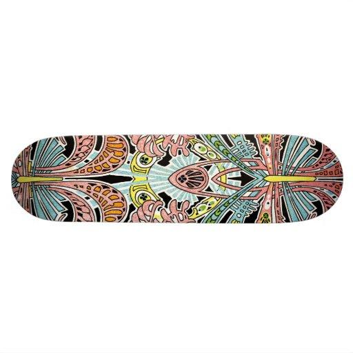 Motif #8 de Nouveau d'art Skateboards Cutomisables