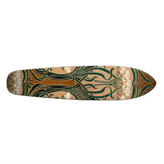 Motif #9 de Nouveau d'art Skateboards Personnalisés