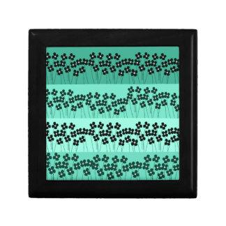 Motif 9 petite boîte à bijoux carrée