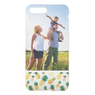 Motif à la mode d'ananas de photo faite sur coque iPhone 8 plus/7 plus