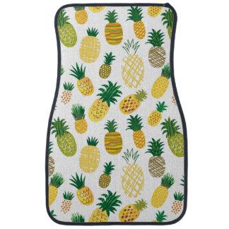 Motif à la mode d'ananas tapis de voiture