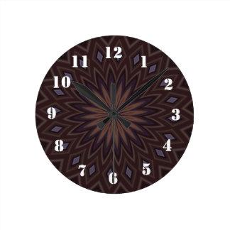 Motif à la mode décoratif horloge ronde