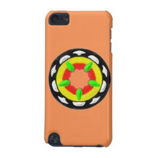 Motif abstrait à la mode multicolore coque iPod touch 5G
