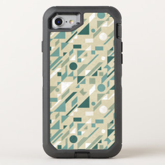 Motif abstrait coque OtterBox defender iPhone 8/7