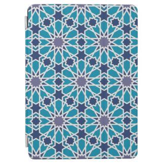 Motif abstrait dans bleu et gris protection iPad air