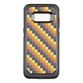 Motif abstrait de couleur de grille coque samsung galaxy s8 par OtterBox commuter