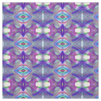 motif abstrait de fractale tissu