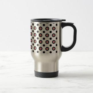 motif abstrait de la géométrie mug de voyage