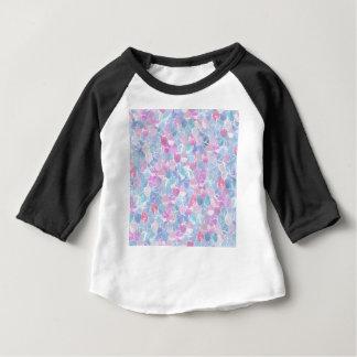 Motif abstrait d'échelles de sirène t-shirt pour bébé