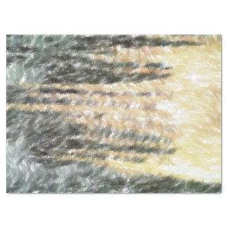 Motif abstrait étrange papier mousseline