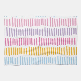 Motif abstrait frais de couleurs en pastel linges de cuisine